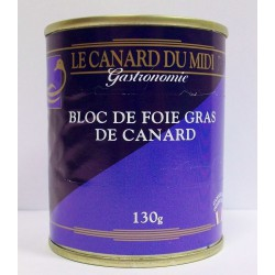 bloc de foie gras canard