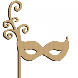 masque arabesque photobooth mariage