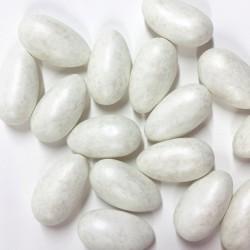 Dragées Pécou Liquicroc caramel beurre salé / blanc nacré 500 gr
