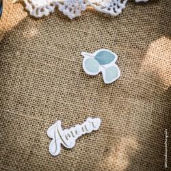 "100 confettis ""Amour"" eucalyptus | mariage botanique"