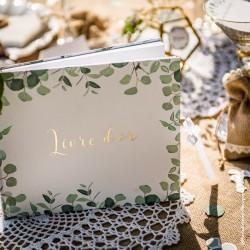 Livre d'or eucalyptus | mariage botanique